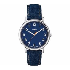 37482b7377b Relógio Timex Pulseira Jeans - Joias e Relógios no Mercado Livre Brasil