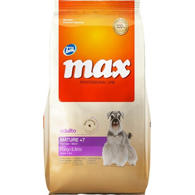 Total Max Perros 7+ Senior Mature Pollo Arroz 15kg
