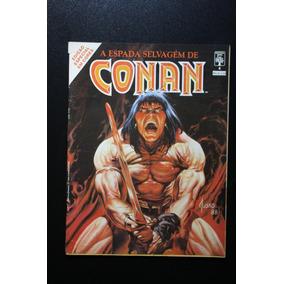 Kit Conan O Bárbaro Especial Conan Em Cores 14 Hq