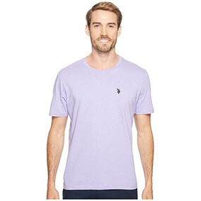 Camisetas Lisas Algodao Roxo - Calçados 446a9757bae16