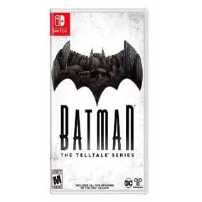 Jogo Batman The Telltale Series - Switch - Físico Lacrado