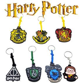 Kit 7 Chaveiro Harry Potter Relíquias Hogwarts Escola Filme