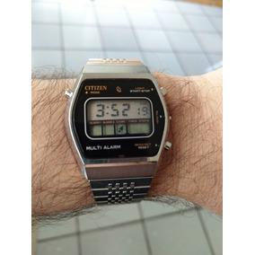 Reloj Citizen Vintage - Retro Y Coleccionable De Los Años 80