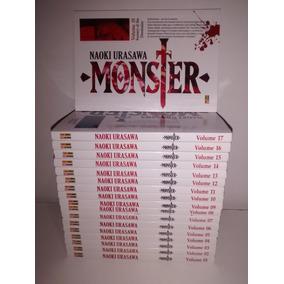 Mangá Monster 1 Ao 18 Completo Edição Panini Impecável