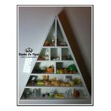 Piramide Alimentar Completa Em 3d