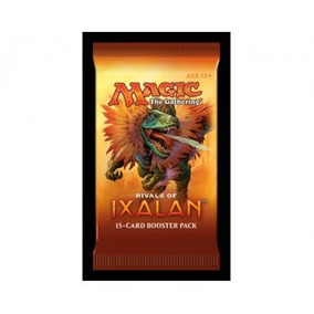 Magic Booster X 15 Cartas - Rivals Of Ixalan - Wizards Wizar