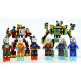 Ironman Lego Compatibles 8 Figuras Armaduras + 2 Robots .