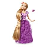 2cb2a6d991b35 Rapunzel Princesa Disney Boneca Articulada 30 Cm C  Anel