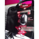Maletin Laptop Notebook Case 15.6 Con Mouse Óptico