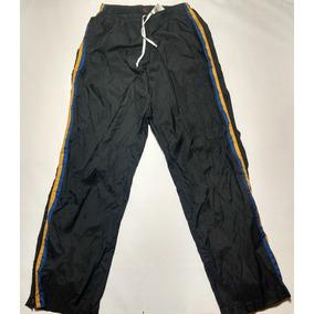 Pantalon Nike Rompeviento Talle L Negro Con Azul Y Amarillo 97593da07c4e5