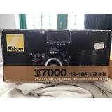 Caja Carton Para Kit Cámara Nikon D7000 Lente 18 105