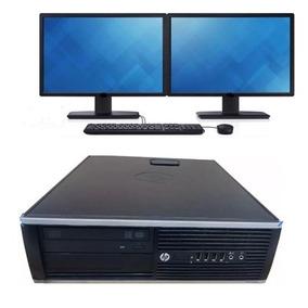Computador Completo 4gb / Hd500gb / Dvd + 2 Monitores Lg