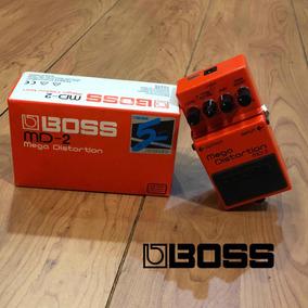 Pedal Mega Distorsión Md-2 De Boss Naranja Allegro
