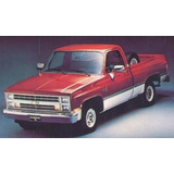 Mica Cocuyo Lateral Pick Up Chevrolet C10 C30 Año 70-80