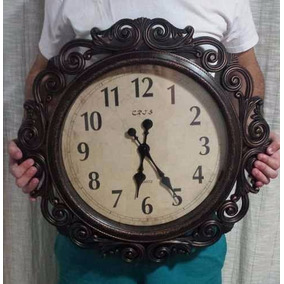 d9110b49553 Relogio Parede Grande Vintage - Relógios De Parede no Mercado Livre ...