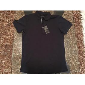 b9bbb9dc947 Camisa Armani Exchange Tipo Polo Hombre Talla Chica S