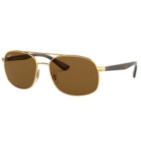 Óculos Ray Ban Rb3506 132 83 64 13 Marrom Polarizado - Óculos no ... 87a1d84f02