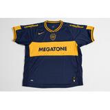 Camisa Do Boca Juniors Autografada Pelo Time Original Nike