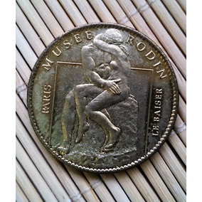 Medalha Rodin Le Baiser (o Beijo) França
