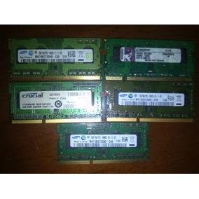 Memorias Ddr3 Para Laptop 1gb Y 2gb