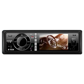 Dvd Player Bluetooth Htech 3 Polegadas Hdv30bt Usb Sd