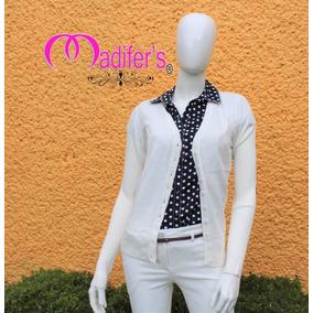 Sueter Botones Dama - Sweaters Mujer Cuello V en Distrito Federal en ... 53ed007c6671