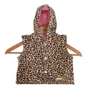 Vestido Oncinha Luxo Festa Infantil C colete boina Tam1 Ao 3. 1 vendido -  Bahia · Colete Em Plush Com Capuz - Oncinha - Bicho Molhado 9b20005ccea