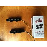 Set Pastillas Aguilar Para Bajo Modelo Jazz Bass Ag 4j-60