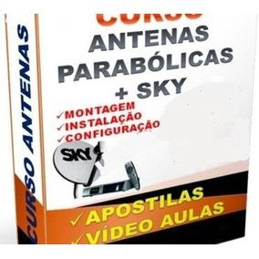 Curso De Antenas Parabólicas 4 Dvds Video Aulas - A6