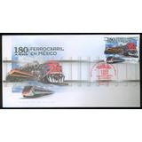 Sc () Año 2017 Sobre Ferrocorril En Mexico 180 Años