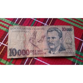 Nota Cédula 10.000 Dez Mil Cruzeiros