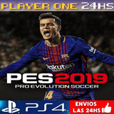 Pes 19 Ps4 Digital Pro Evolution Soccer 2019 Latino 1°