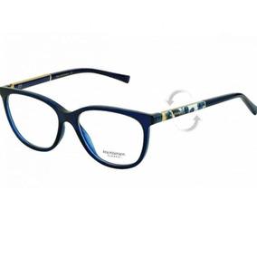 8fea5a3d6cdd8 Armacao Oculos Ana Hickmann Azul - Óculos no Mercado Livre Brasil
