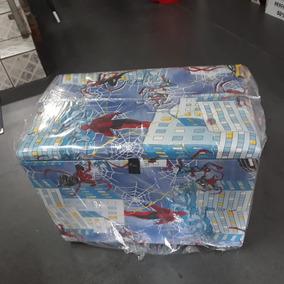 Baú Caixa De Brinquedo Novo Homem Aranha Spider Man