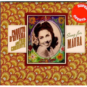 Cd Digipack Paquito And Trio Corrente Songs Of Maura