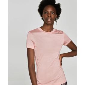 585ebc029b84 T Shirts Zara - Calçados, Roupas e Bolsas no Mercado Livre Brasil