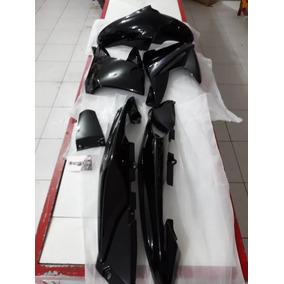 Kit Carenagem Plástico Fazer 250 2011 Á 2015 Blueflex Preta