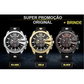 8e4cbae1f05 De Luxo Masculino Diesel - Relógios De Pulso no Mercado Livre Brasil