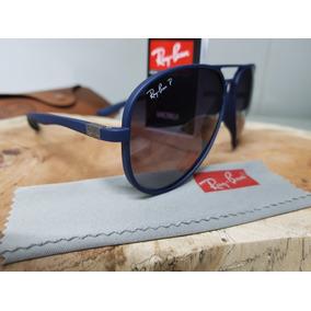 7412dcc421568 Óculos De Sol Ray-ban Aviator 4180 Azul Liteforce Polarizado. R  310. 12x R   25 sem juros. Frete grátis