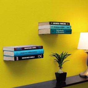 Suporte Para Livros Invisível Suspenso Para Quarto Metaltru