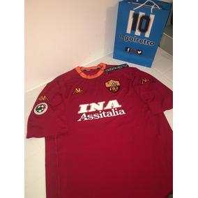Camiseta Totti Roma 2017 - Camisetas Bordó en Mercado Libre Argentina f5d391cfb3e46