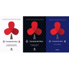 Kit Geração De Valor 3 Livros Frete Grátis