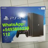 Playstation 4 Pro 1tb Con 10 Juegos Y 2 Controles Sellado En