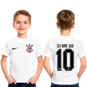 Camiseta Personalizada Infantil Corinthians