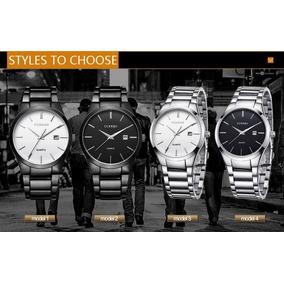 Relógio Social Casual Curren Masculino Barato 8106