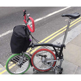 Bicicleta Brompton Con Maleta, Llantas Imponchable Kit