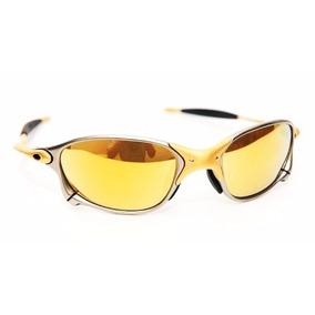 Dourado - Óculos De Sol Oakley Juliet, Usado no Mercado Livre Brasil fd28a7edcf