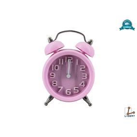 Reloj Mini Despertador Manecillas Alarma Retro 2a