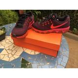 Tênis Nike Ar Max Tailwind 8 Preto Com Rosa