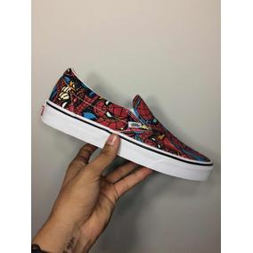 Vans Slip On Ed. Limitada Marvel Spiderman (homem Aranha)